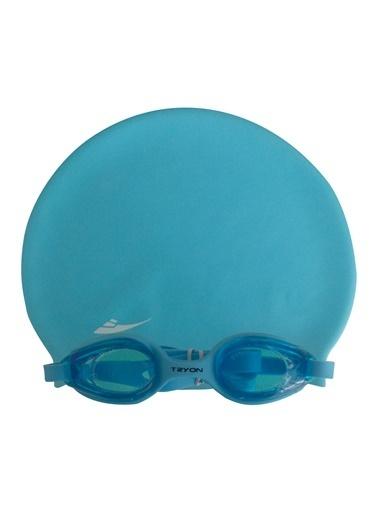 Tryon Tryon Yüzücü Gözlük Seti Mavi